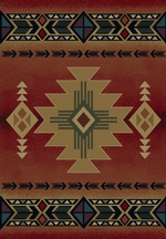 Arizona Crimson Rug Series