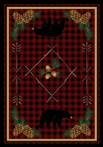 Deep Woods Lodge Rug Series