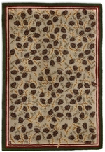 Northwoods Cones Rugs