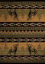Mule Deer Contour Rugs
