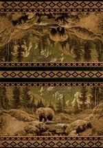 Scenic Bear Beige Rugs