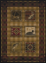 Lodge Stamp Rugs