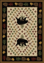 Patchwork Bear - Natural Rugs