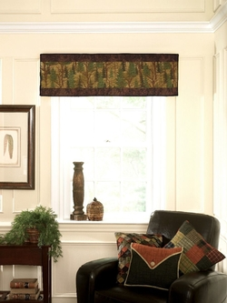 Forest Trees Runner/Valance