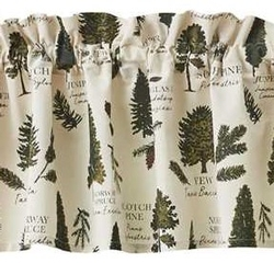 Fir Tree Valance