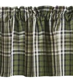 Juniper Plaid Valance