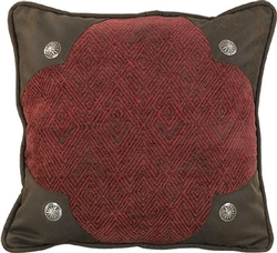 Scalloped Chenille Pillow