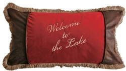 Welcome to the Lake Pillow