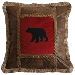 Bear Throw Pillow -18