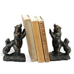 Standing Bear Bookends