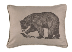 Walking Bear Pillow - 16