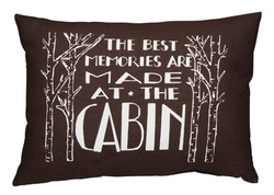 At The Cabin Pillow