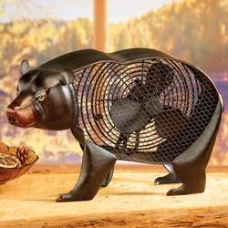 Black Bear Table Fan