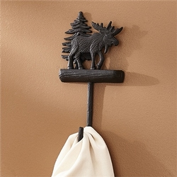 Black Moose Single Hook