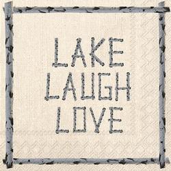 Live Lake Laugh  Napkins - Two Options
