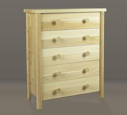 Five Drawer Dresser