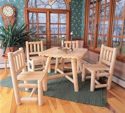 Five Piece Square Dining Set