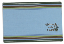 Welcome to the Lake Placemat - Set of 2