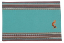 Embroidered Kokopelli Placemats - Set of 2
