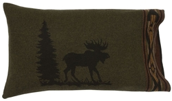 Moose I Pillow Sham