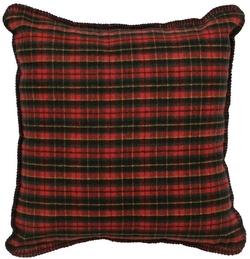 Premier Plaid Wooded River Pillow