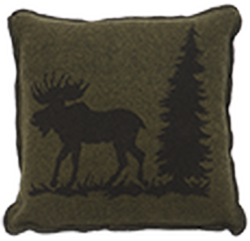 Moose 1 Accent Pillow