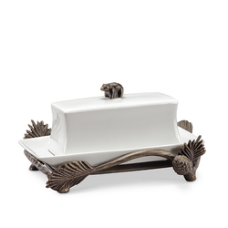 Lodge Bear Butter Dish