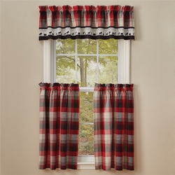 Champlain Lined Boarder Valance