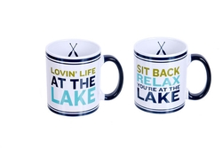 Stoneware Big Lake Mug - 2 options
