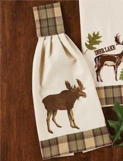 Sequoia Hand Towel - Moose