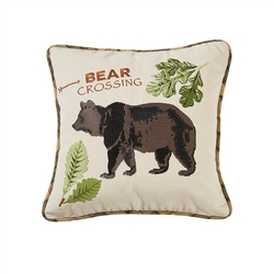 Sequoia Bear Pillow - 16