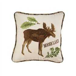 Sequoia Moose Pillow - 16