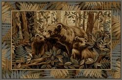 Bear Family Rug - 5 Sizes