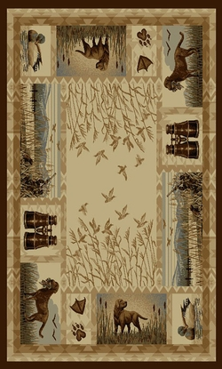 Hunting Rug Wilderness - 5 Size Options