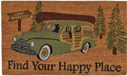 Find Your Happy Place Door Mat