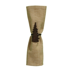 Fir Tree Napkin Ring - Set of 2