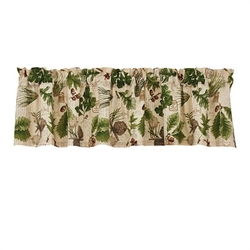 Wildlife Trail Valance