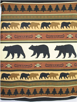 Bear Throw/Blanket