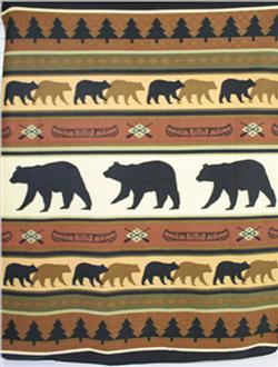 Bear Throw/Blanket