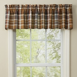 Rustic Cabin Kitchen Curtains