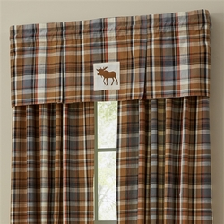 Roaring Thunder Lined Pleated Valance
