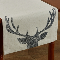 Antlers Table Runner