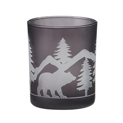 Votive Candle Holder - Bear