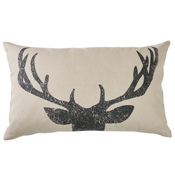 Antlers Pillow