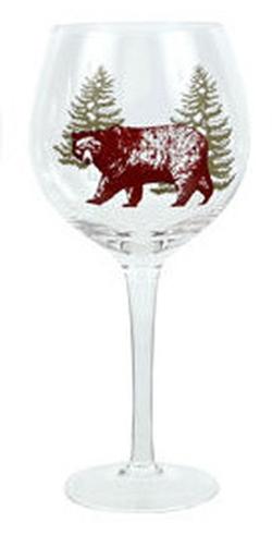 Woodland Art Wine Glasses - 3 Options