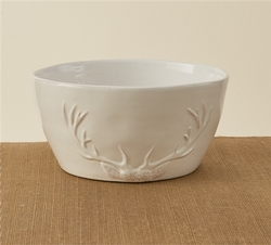 Deer Silhouette Serving Bowl