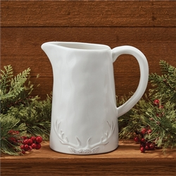 Deer Sihouette Pitcher