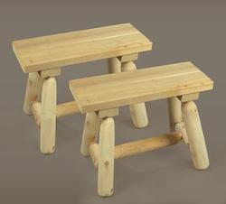 Small Straight Bench - Set of 2