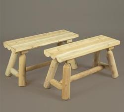 Straight Bench - set of 2