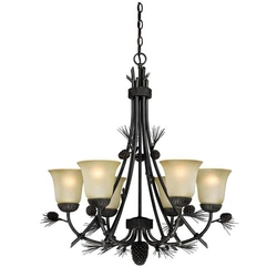 Sierra 6 Light Chandelier